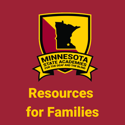 "MSA Logo and words ""Resources for Families"" - links to MSA's family resources webpage"